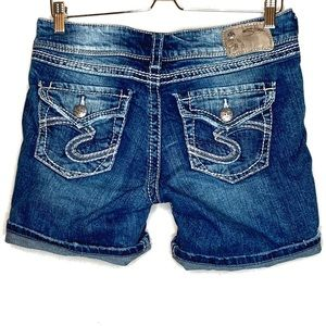 Silver Jeans Suki surplus shorts size 29